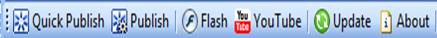 iSpring Free's toolbar in PowerPoint