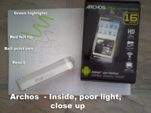 Archos - close up
