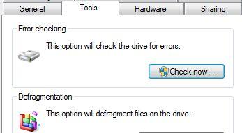 Tools, Error Checking