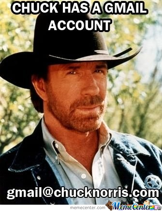 Chuck Norris Gmail